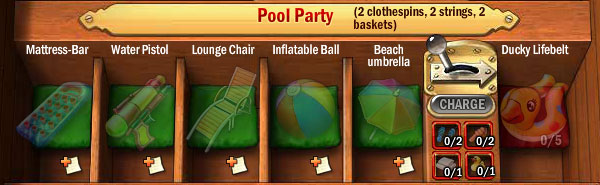 Collections-pool-party