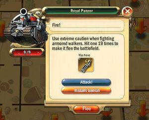 Dialogbox royal-panzer