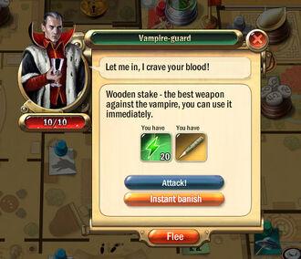 Dialogbox vampire-guard