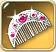 Silver-comb