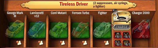 Collections-tireless-driver