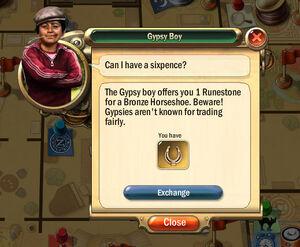 Dialogbox gypsy-boy