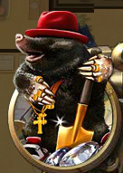Real-mole-robber