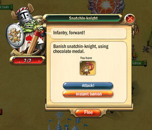 Dialogbox snatchin-knight