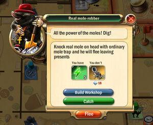 Dialogbox real-mole-robber