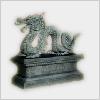 Hidden-dragonstatue
