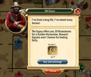 Dialogbox old-gypsy
