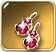 Ruby-pendants