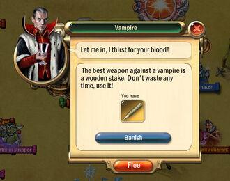Dialogbox vampire