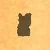 Sil-catstatuette