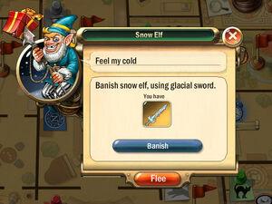 Dialogbox snow-elf