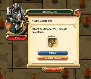 Dialogbox storm-trooper
