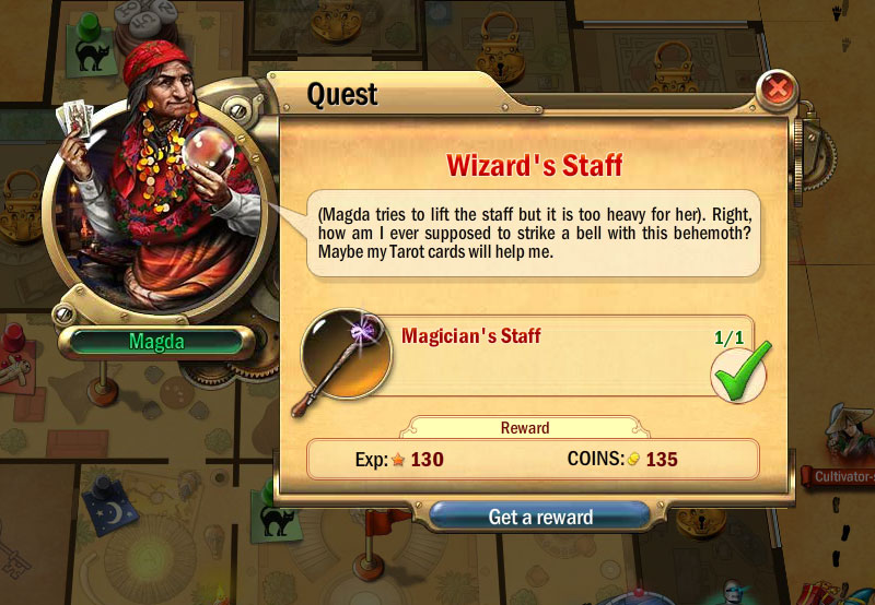 Mystery Manor Quest List