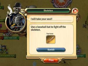 Dialogbox skeleton