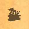 Sil-dragonstatue