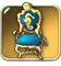 Crude-throne