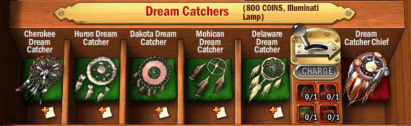 Collections-dream-catchers