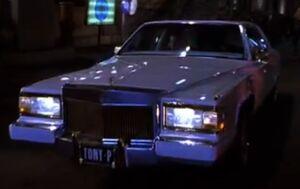 Tony P's car
