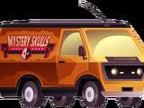 The Mystery Skulls Van