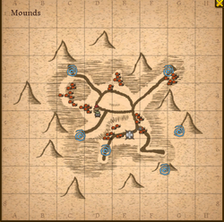 Mounds map