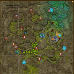 Traders path map 2