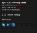 Yeti's Dynamic Staff