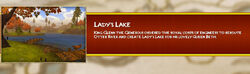 Ladys Lake Load Screen