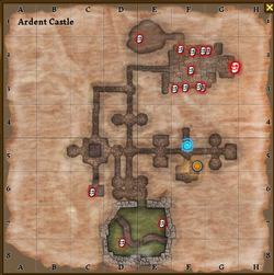 Ardent castle map