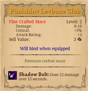 Punishing legbone club 2,