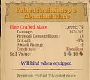 Fabled Archbishop's Abundant Mace