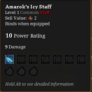 Amarok's icy staff2