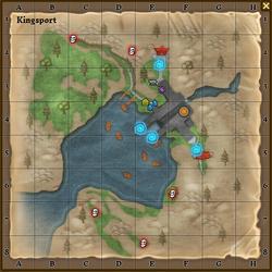 Kingsport map