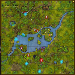 Lady's lake new map