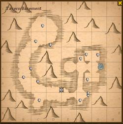 Tavern basement map