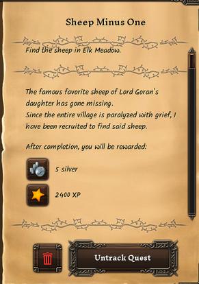 Sheep minus one