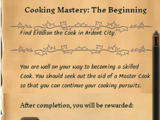 Cooking Mastery: The Beginning
