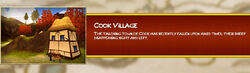 Cook Village Load Screen