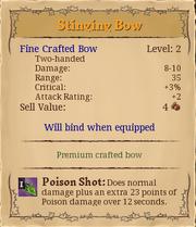 Stinging bow