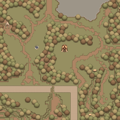 Map The Wooded Forest
