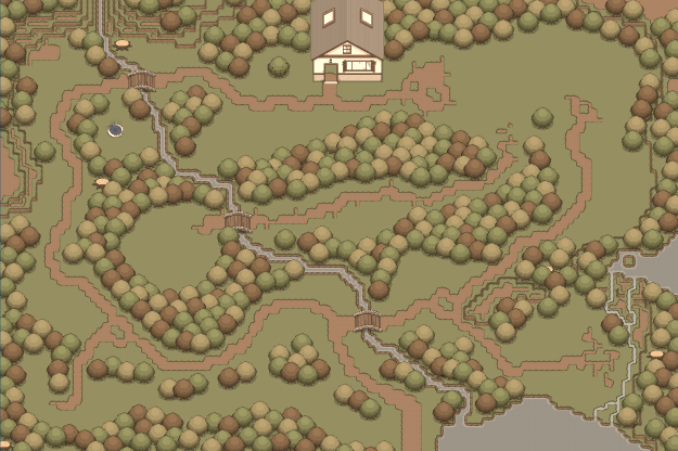 Map The Deep Forest