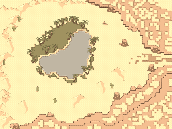 Map The Far Oasis