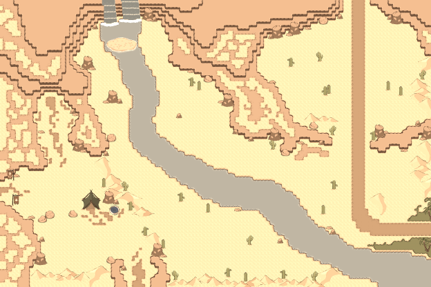 Map The Northern Desert