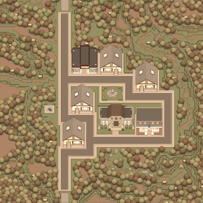 Map Shady Vale