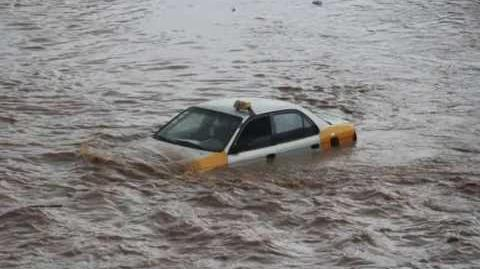 Massive Flood in Accra - Ghana (New 2016)