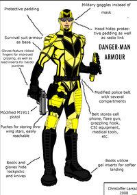 Original Superhero Concept by christofferlarsson