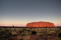 We did not climb Uluru
