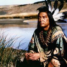 A sioux indian Kickingbird