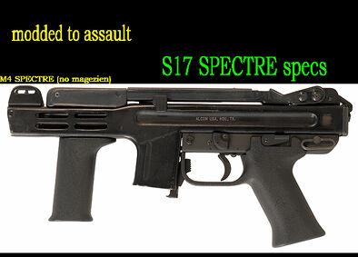 S17 specialize m4spectre mod BUILT