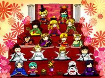 Hinamatsuri Dolls