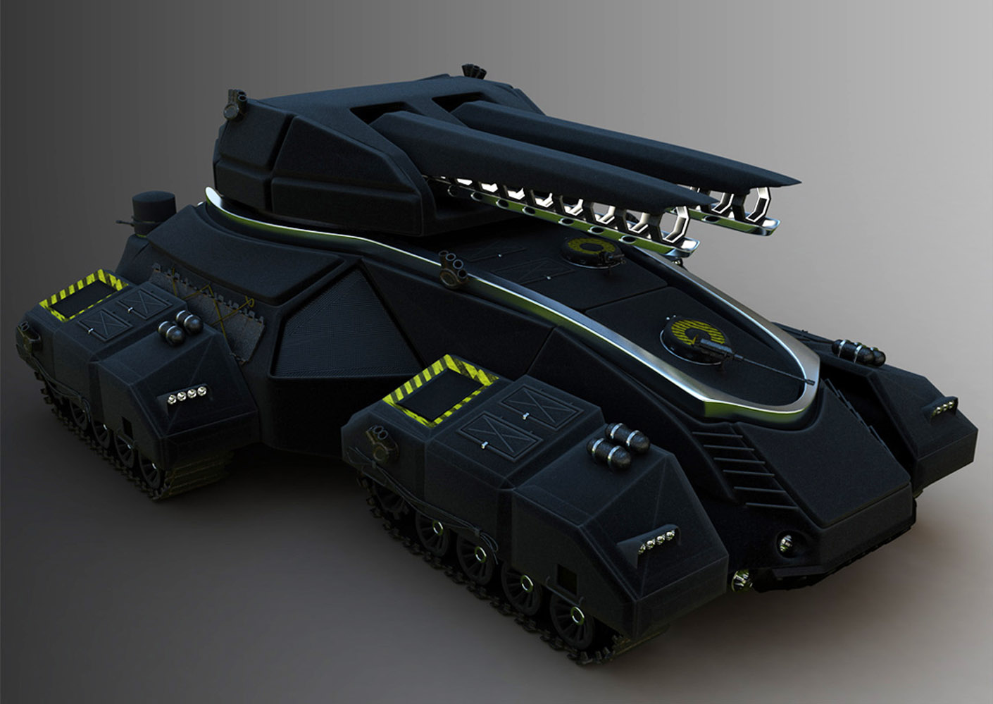 Image Diogo Valle Bittar Hovertank Futuristic Future Battle Tank - Cool cars with guns